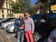 Avec nos amis les taxis - Opération livre 14 mars 2017