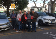 Avec nos amis les taxis  Mars 2018