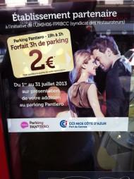 Parking à 2 € déjà la 3ième édition